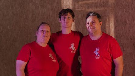 Sporto trenerių šeimos laimės formulė – lygus darbų pasiskirstymas ir pagalba