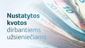 Aktualu įdarbinantiems užsieniečius: nustatytos kvotos trūkstamų profesijų darbuotojams iš trečiųjų šalių