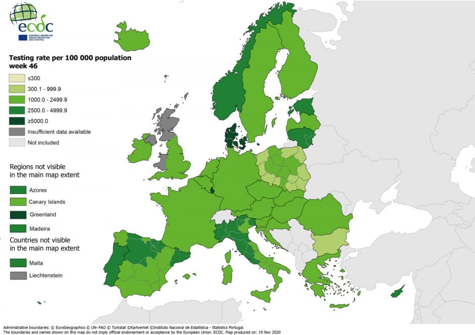 Europos ligų prevencijos ir kontrolės centras: Lietuva pagal testavimo apimtis – viena pirmųjų Europoje