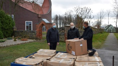 Alvitą pasiekė jau 24-oji geradarių iš Vokietijos labdaros siunta