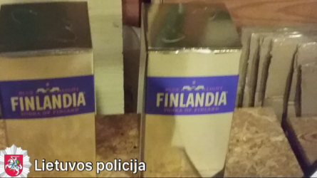 Elitinė rusiška ir suomiška degtinė buvo gaminama Lietuvoje (vaizdo medžiaga)