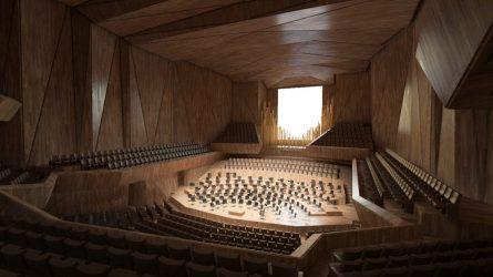 Oficialu: pasirašyta sutartis dėl Nacionalinės koncertų salės projektavimo