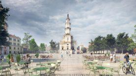 Architektų planas Rotušės aikštei – sukurti derinį tarp seno ir naujo