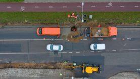 Rekonstruojama sostinėsDidlaukiogatvė bus estetiškesnė ir patogesnė pėstiesiems