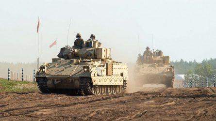 Keičiasi JAV sausumos pajėgų rotacijos Lietuvoje