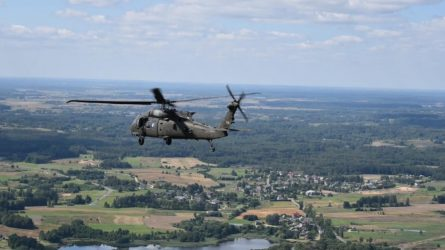 Lietuva ir JAV šią savaitę ketina pasirašyti sutartį dėl naujos sraigtasparnių platformos įsigijimo