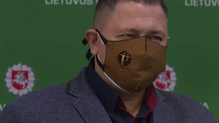 """LNK televizijos žurnalistui – atminimo ženklas """"Už paramą policijai"""""""