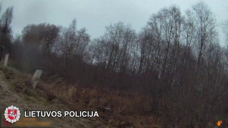 Saviizoliacijos pramogos baigėsi griovyje (video)