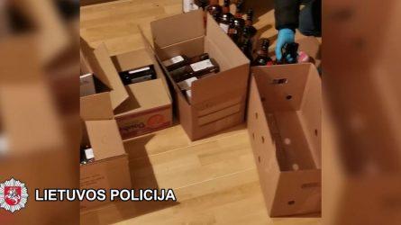"""Šiaulių pareigūnai atskleidė ne tik neteisėtą """"antraeilę"""" Telšių rajono ūkininko veiklą, bet ir neatsakingą jo elgesį su šaudmenimis (video)"""