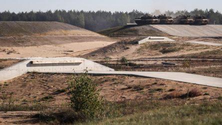 Vietos naujam poligonui bus dairomasi visoje Lietuvoje