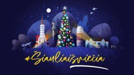 Kalėdinį laikotarpį Šiauliai kviečia pasitikti su šviesa
