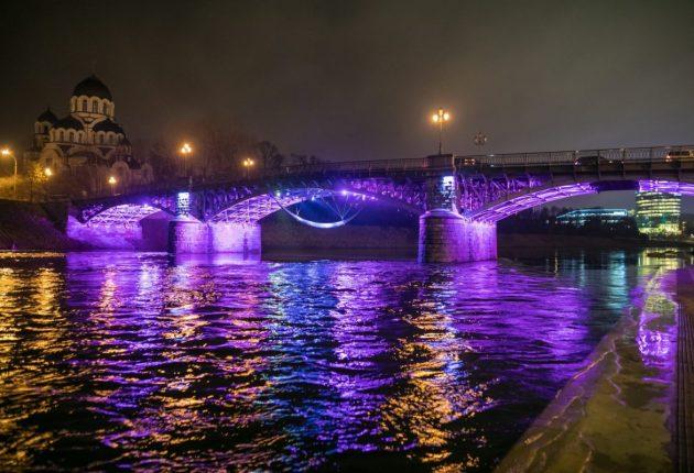 Žvėryno tiltas | Nuotr. Sauliaus Žiūros