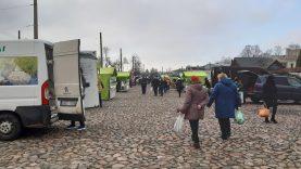 Ūkininkų turgeliams Kaune – padidintas dėmesys ir įspėjimai dėl karantino pažeidimų