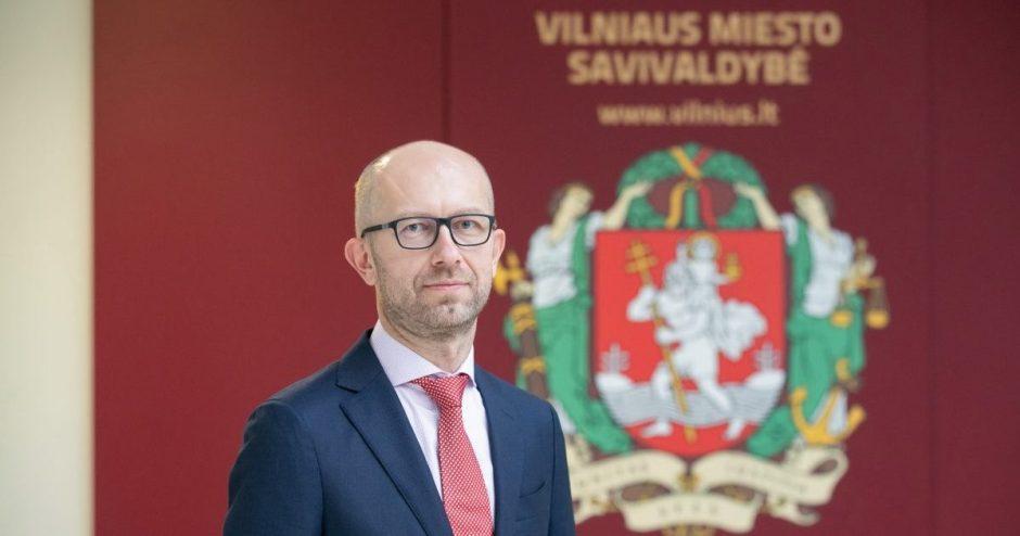 Taryba pritarė: naujasis Vilniaus mero pavaduotojas – Tomas Gulbinas
