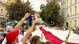 Ministrė A. Bilotaitė: atvykti į Lietuvą dėl humanitarinių priežasčių leista 721 Baltarusijos piliečiams