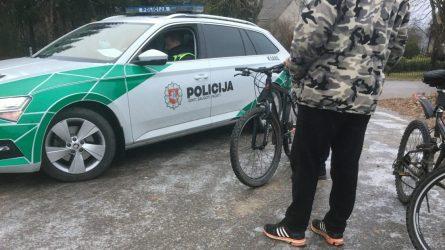 Neblaiviam dviratininkui gresia administracinė atsakomybė
