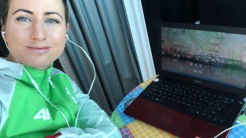 Buriuotoją Viktoriją Andrulytę muzika lydi visur