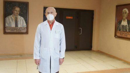 Ortopedai traumatologai švenčių dienomis stiprina gretas
