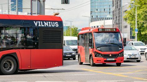 Patvirtinta viešojo transporto atnaujinimo Vilniuje strategija – iki 2030 m. daugiau nei pusė elektrinio