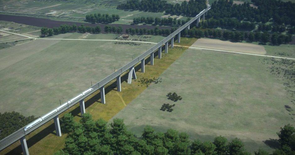 """""""Rail Baltica"""" ieško rangovo ilgiausio Baltijos valstybėse geležinkelio tilto statybai"""