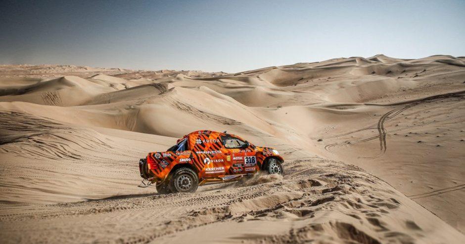 Iš Dakaro trasų dingusios kopos