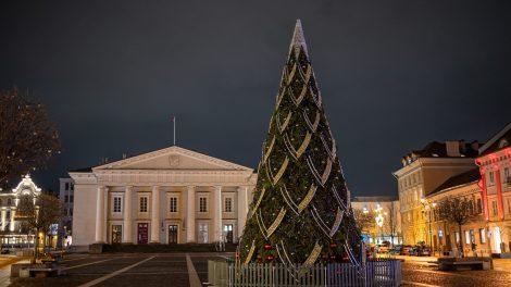 Vilnius Naujuosius sutiks namuose: miesto aikštėse užges eglės, nebus fejerverkų