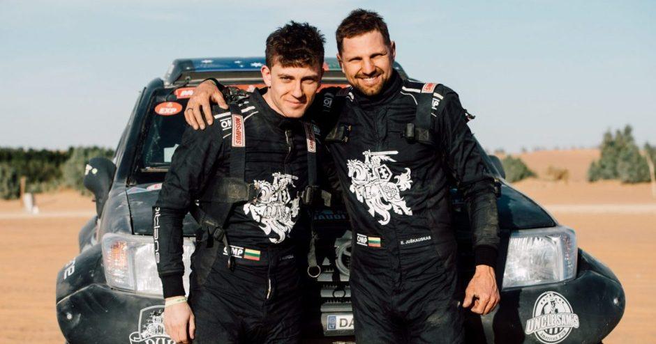 Edvinas Juškauskas ir Aisvydas Paliukėnas į Dakarą atvyko užbaigti pradėto darbo