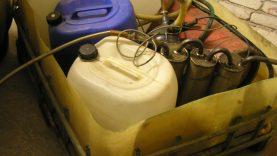Kėdainiuose Kūčių išvakarėse aptikta naminukės gaminimo įranga