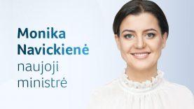 Monika Navickienė – naujoji socialinės apsaugos ir darbo ministrė