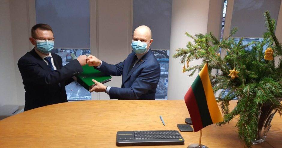 Pareigas pradėjo eiti naujasis sveikatos apsaugos ministras A. Dulkys