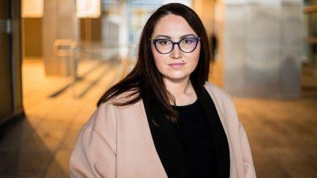Naujoji teisingumo ministrė – Evelina Dobrovolska