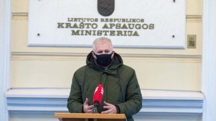 Krašto apsaugos ministro A. Anušausko kreipimasis į KAS karius ir civilius
