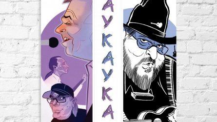 """2021 metų kalendoriuje """"TAYKAYKAA"""" – Šiaulių muzikantų portretai"""