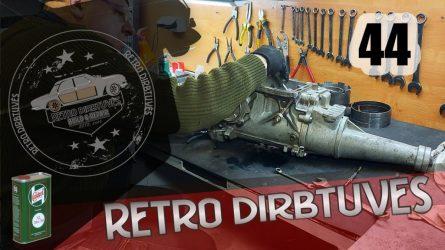 1967 m. Ford Mustang: Automatinės pavarų dėžės ardymas, gedimų paieška ir sprendimo būdai