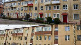 Renovuotas namas – džiaugsmas visiems: ir butų savininkams, ir miestiečiams