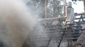 Nužudymu kaltinamas  Raseinių rajono gyventojas nusikaltimą bandė užmaskuoti gaisru