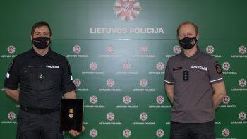 Klaipėdos policijos pareigūnai – labiausiai įsiminė visaapimanti vienybės ir susitelkimo dvasia