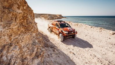 Devintojo greičio ruožo finišą pasiekęs Juknevičius: Dakaras tęsiasi