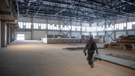 Vilniaus mieste kyla oficialioms varžyboms tiksiantis krepšinio aikščių kompleksas