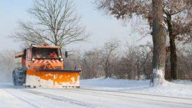 Rajono kelių priežiūra žiemą