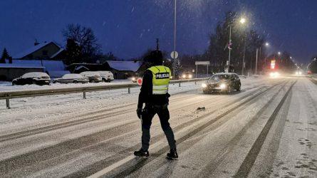 """Kaišiadorių rajone užfiksuotas gerokai greitį viršijęs """"Volvo"""" vairuotojas"""