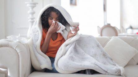 Per savaitę Lietuvoje užregistruota mažiau gripo atvejų