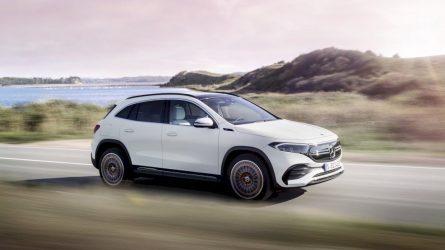 """""""Mercedes-Benz"""" žengia į elektrinių krosoverių segmentą ir pristato naująjį EQA"""