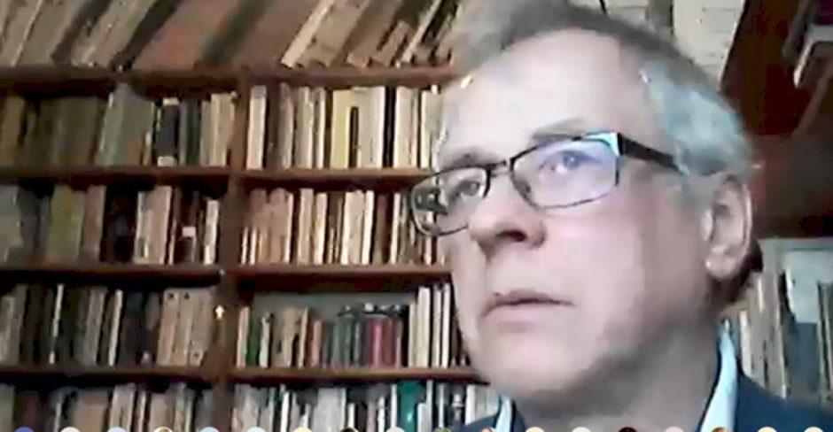 Pamoka-susitikimas su rašytoju, poetu, aktoriumi, scenaristu Alvydu Šlepiku Alytaus Putinų gimnazijoje