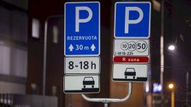 Vilniaus darnaus judumo pasiūlymas ministerijoms – atsisakyti rezervuotų parkavimo vietų