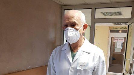 Per šalčius ligoninėje daugėjo ir nušalusiųjų, ir patyrusių traumas