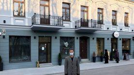 """Prieš 150 metų statytą namą atgaivinęs verslininkas: """"Su miesto prisidėjimu viskas kur kas paprasčiau"""""""