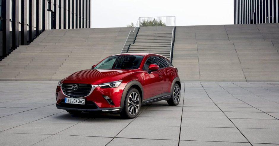 """Atnaujintas """"Mazda CX-3"""" bestseleris sulaukė išskirtinio britų įvertinimo"""