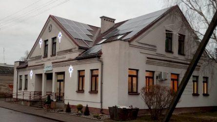 Kybartų pirminės sveikatos priežiūros centre įrengta fotovoltinė saulės elektrinė