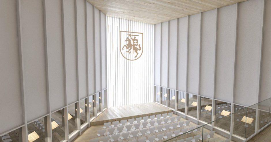 Vilnius kviečia ieškoti kompromisų dėl Nacionalinės koncertų salės